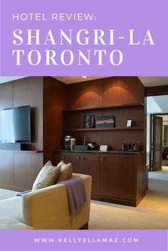Hotel review of Shangri-La Toronto in Toronto, Canada. Click this image to read the review, or re-pin it to your travel planning board!