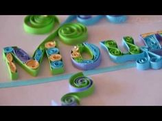 Framed Paper Quilling G-Clef Musical Quilling - YouTube
