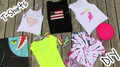 DIY clothes tutorial with 5 easy DIY T shirts! In this DIY clothes tutorial I show 5 DIY Projects on how to transform plain t shirt into beautiful DIY shirt ...
