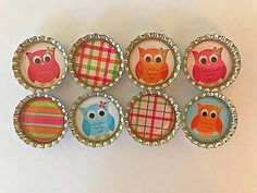 🎉Stocking Stuffers Owl Magnets Party Favors Goodie Bag Fillers Loot Bags 8Pc #BoutiqueChicGallery #BirthdayChild