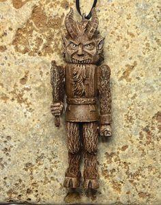 Krampus Nutcracker Ornament