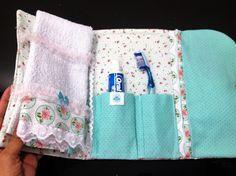 Acompanhe o passo à passo de como fazer um Kit de Higiene Pessoal em tecido.
