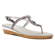 1e9383bc5 Onex Womens Sidney Flip Flop Pewter 8 M US -- Unbelievable item right here!  Sandals for Women