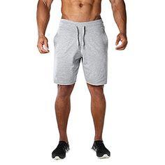 a29c334688f Men s Elastic Gym Workout Training Shorts Running Cotton ... https   www