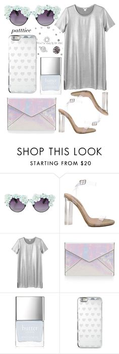 """""""020716"""" by patttiee ❤ liked on Polyvore featuring Gasoline Glamour, YEEZY Season 2, Monki, Rebecca Minkoff, Butter London and Michael Kors"""