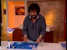 Jorge Rubicce - Bienvenidas TV - Modela en 3D con cortantes.