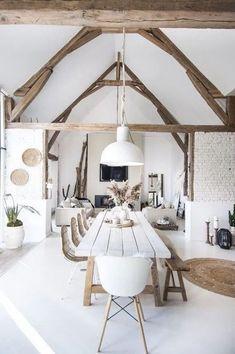 Table en bois style boho ethnique faite maison #décoration #home #decor