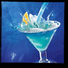 Ocean Water Fake Ginger Kid Drinks Blue Food Coloring Drinks