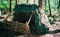 6 Survival Shelters You Can Probably Build Yourself - http://SurvivalistDaily.com/survival-shelters/ #shtf #survival