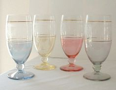 Venetian, Made in Italy, set, stemware,water glasses,
