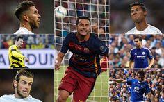 Pedro, Bale, Ronaldo, Otamendi, Ramos iyo Ragga Ay Man United Ku Hungowday