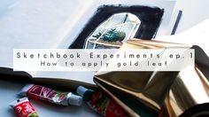 :D So I thought i would start a series called Sketchbook Experiments where i try out different techniques in my sketchbook and see how they work ou. Speed Paint, How To Apply, Illustration, Youtube, Gold, Painting, Painting Art, Paintings, Illustrations