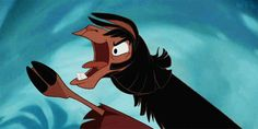 And his mouth often gets him into trouble. | Proof That Kuzco Is The Realest Disney Prince There Ever Was