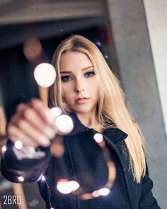 tumblr girl ensaio woman lights