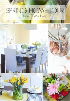 Spring home tour... Cuteness!