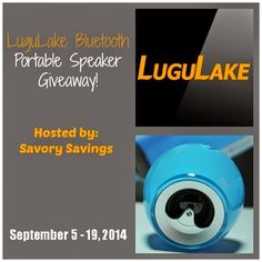 LuguLake Bluetooth Speaker #Giveaway - To make your kids happy, you can give them a warm embrace, a family trip or a Crystal Bluetooth speaker. With this nice speaker, your beloved ones will have unlimited fun of music and joy.