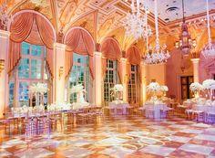 Venue, The Breakers Palm Beach; Flowers, The Breakers Palm Beach - Florida Wedding http://caratsandcake.com/AshleighandSaul