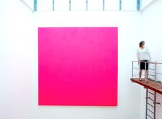 Interaction of Color This Pink is Insane! #painting #ChristianMuscheid #Art