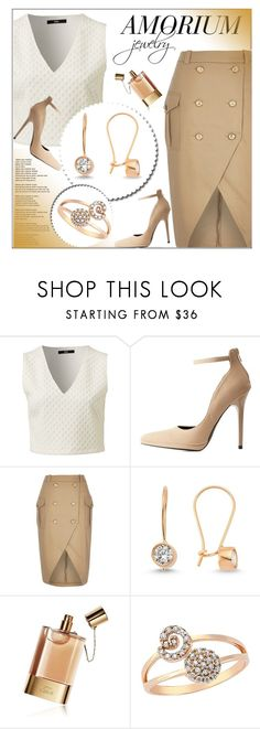 """""""AMORIUM.com"""" by monmondefou ❤ liked on Polyvore featuring Qupid, River Island, Amorium, Chloé, women's clothing, women's fashion, women, female, woman and misses"""