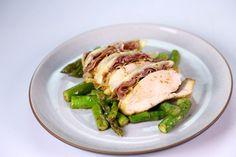 Lemon Butter Chicken with Asparagus Recipe | Teressa Matvienko - The Chew