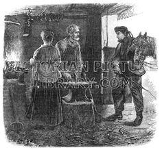 Blacksmith's forge