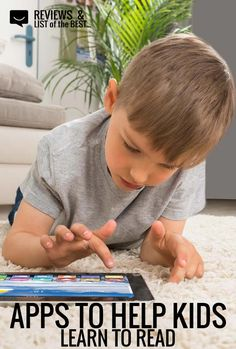 5 awesome apps to help kids learn to read or improve their reading skills.