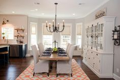 Looking for Living Space and Dining Room ideas? Browse Living Space and Dining Room images for decor, layout, furniture, and storage inspiration from HGTV. Console, Dining Furniture, Dining Rooms, Furniture Redo, Dining Area, Furniture Removal, White Furniture, Cheap Furniture, Discount Furniture