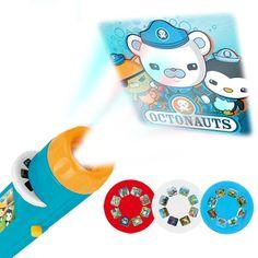 Children Projection Flashlight Light Toys Submarine Projector Flashlight Starlight Projection Baby Sleep LED Glowing Toys