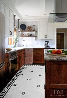 Matt and Andrea's Kitchen design composite image.