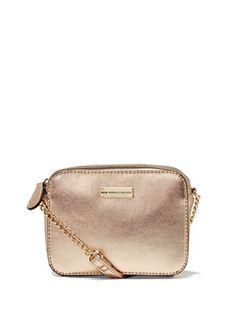Chain-Handle Crossbody Bag  - New York