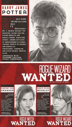 Wanted. Wasn't Harry taller than 5'5 in the books though?