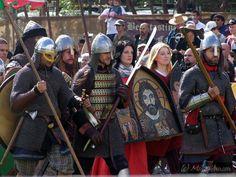 New Varangian Guard at Abbey Medieval Festival