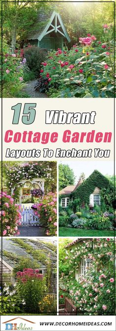 Vibrant Cottage Garden Layouts To Enchant You garden design layout 15 Vibrant Cottage Garden Layouts To Enchant You