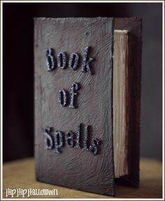 Paper Mache Crafts - Make some awesome Halloween spell books!