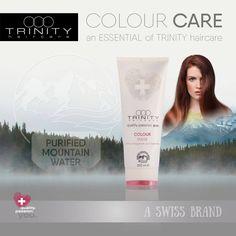 TRINITY haircare präsentiert voller Stolz: ein ESSENTIAL unserer neuen CARE Linie – die Colour Maske! Die intensive Pflege für ein dauerhaftes Farbergebnis! Sie neutralisiert die Haare und schließt die Schuppenschicht, schützt die Haarfarbe nachhaltig, glättet die Haarstruktur und macht das Haar geschmeidig und glänzend.  #trinityhaircare #qualitypassionYOU #aswissbrand #newCAREline #therapies #essentials #coloursprayconditioner  Info´s oder Bestellung 06412 21071 oder unter…