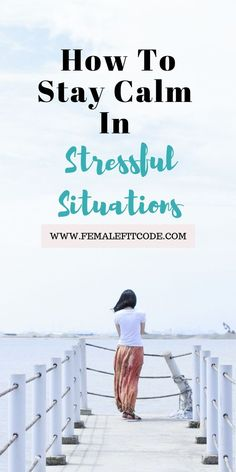 In situations that makes us feel overwhelmed, staying calm is a strength. So how do we do it? Read for more!