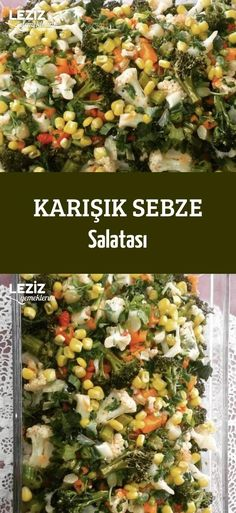 Karışık Sebze Salatası – Salata meze kanepe tarifleri – Las recetas más prácticas y fáciles Asian Vegetables, Fall Vegetables, Baked Vegetables, Healthy Vegetables, Organic Vegetables, Healthy Salads, Healthy Lunches, Vegetable Drinks, Vegetable Salad