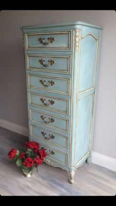 Distressed lingerie chest