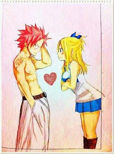 Typical Lucy scolding the dense dragon slayer. Fairy Tail Natsu And Lucy, Fairy Tail Nalu, Jellal And Erza, Fairytail, Scarlett, Fairy Tail Couples, Dragon Slayer, Love Fairy, Strong Love