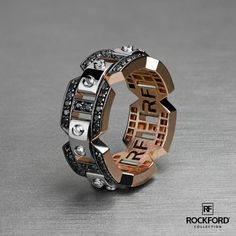 Modern luxury by #rockfordcollection Shop at rfshop.us/2oqG1yp BRIGGS Ring Style# WB013-1RWBD100 Worldwide shipping | Made in USA