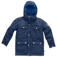 Fjällräven - Kids Greenland Down Parka - Down jacket | Free UK Delivery | Alpinetrek.co.uk