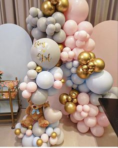Gender Party, Balloons, Baby Shower, Treats, Cakes, Gifts, Arches, Babyshower, Sweet Like Candy