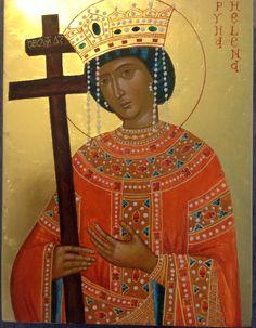 Saint Helena, Orthodox Christianity, Orthodox Icons, Troops, Nostalgia, Art, Dios, Saints, Greece
