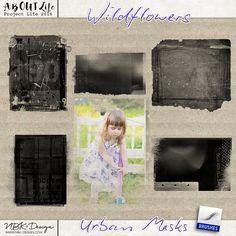 <p> Wildflowers {Urban Masks} by NBK-Design</p>