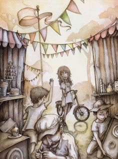 Celeste, Nick and the Magical Tea Party « Finding the Lotus //Adam Oehlers www.missdinkles.com