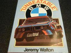 BMW UNBEATABLE JEREMY WALTO BMW M1 530i 320i CSL 2002 HANS STUCK RONNIE PETERSON Bmw M1, Jaipur, Racing, Books, Running, Libros, Auto Racing, Book, Book Illustrations