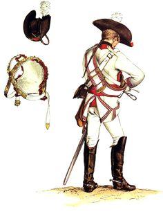SOLDIERS- Menzel: SYW- Prussia: Prussian Kürassier-Regiment Prinz Schönaich No 9, by Adolph Menzel.