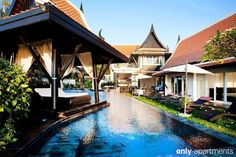 Divinity Thai Style House with private beach access.   Gorgeous poolside view. The perfect way to indulge in relaxation.