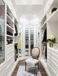 Closet design + organization. @Lisa Adams #adoredecor