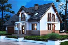 Home Fashion, Villa, Mansions, House Styles, Home Decor, Log Projects, My Dream House, Facades